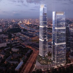 Апартаменты с одной спальней, Москва-Сити,  башня NEVA TOWERS