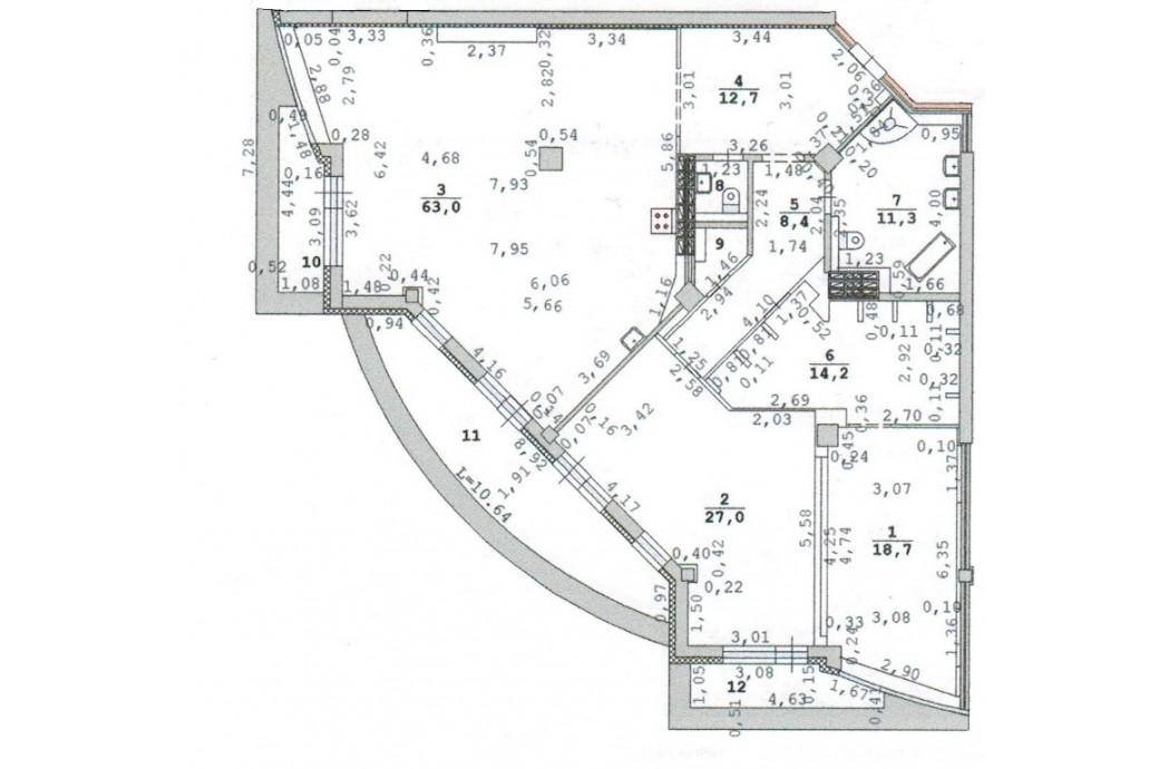 """3-4 комнатная квартира, ул. Шейнкмана, 119 (ЖК """"Антарес"""")"""